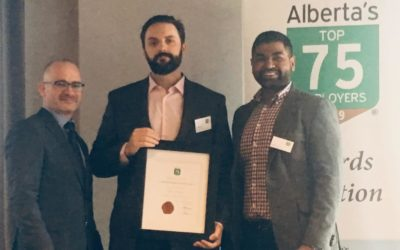 CompuVision's Focus on Employee Wellness Earns Spot on Alberta's Top 75 Employer Award for 2019
