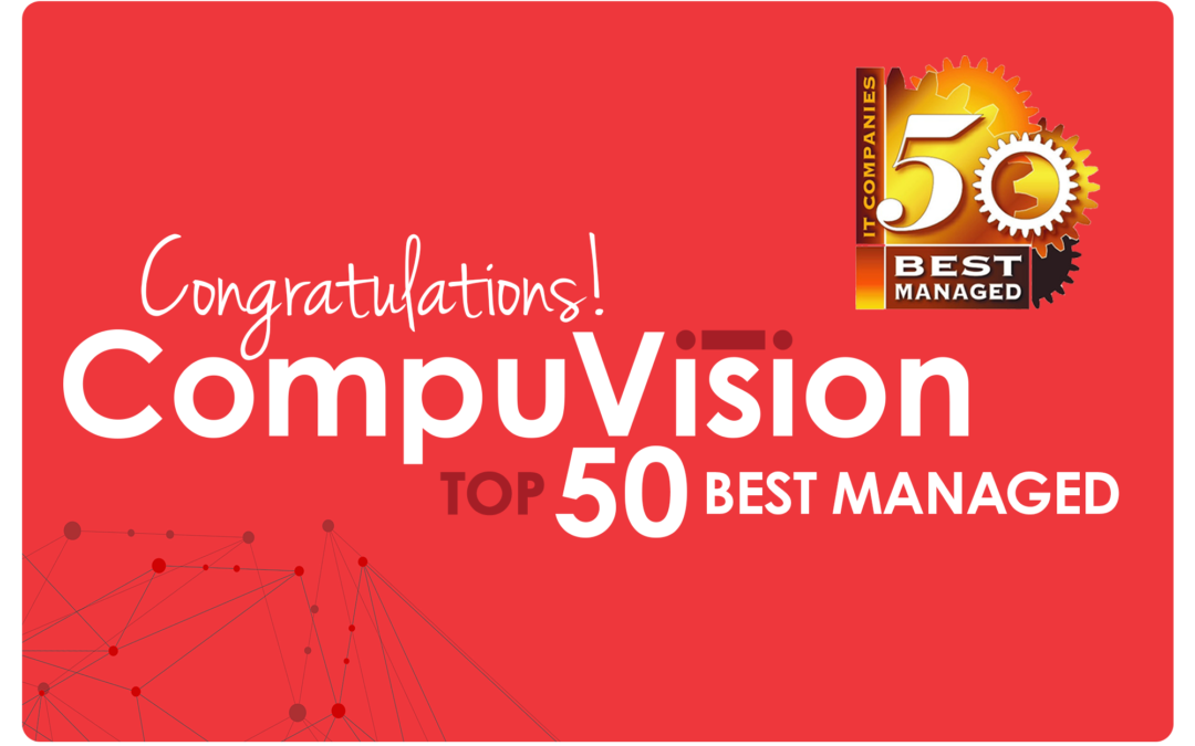 CompuVision Named One of the 50 Best Managed IT Companies for 2019