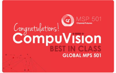 CompuVision Ranked Among World's Most Elite 501 Managed Service Providers